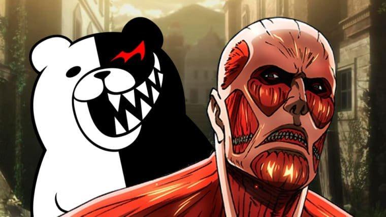 Attack on Titan 2: Future Coordinates | Monokuma, de Danganronpa, será um dos titãs!