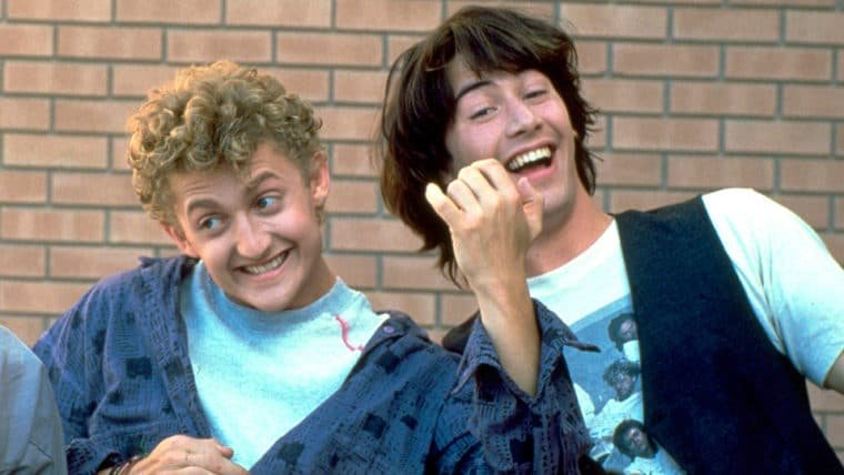 Keanu Reeves confirma que roteiro de Bill & Ted 3 está pronto