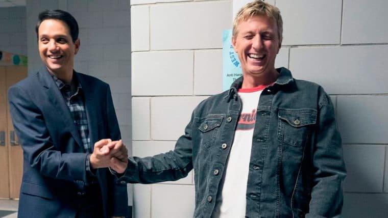 Cobra Kai | Ralph Macchio e William Zabka se encontram em foto da sequência de Karate Kid