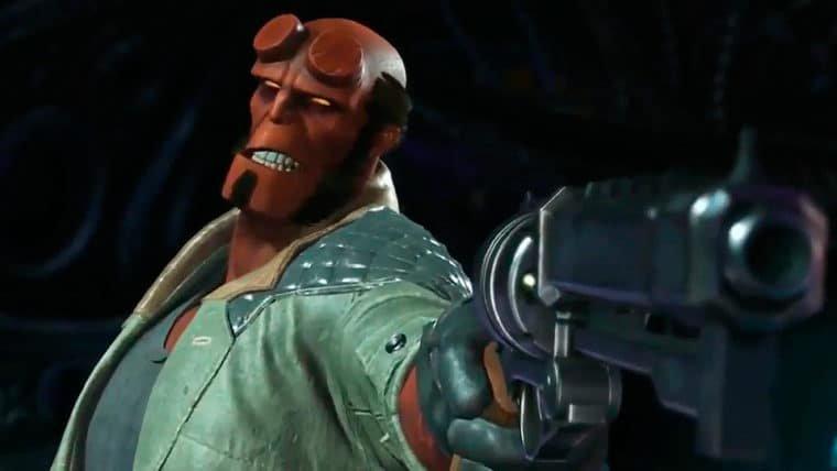 Injustice 2 | Hellboy é brutal e imparável em seu trailer de apresentação