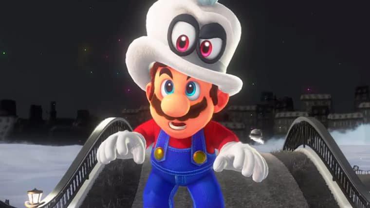Super Mario Odyssey | Cappy entra em ação no modo cooperativo com dez minutos de gameplay