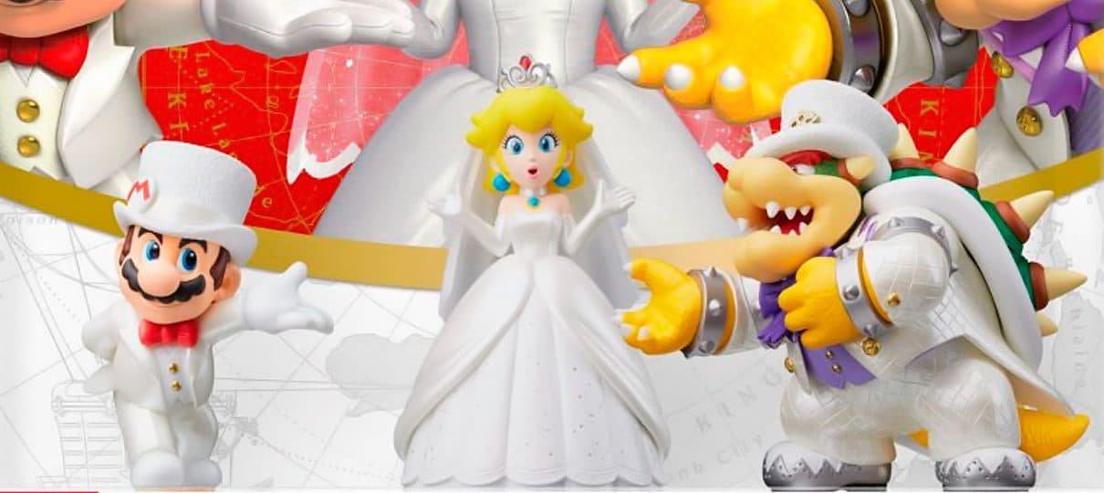 Super Mario Odyssey | É possível colocar o vestido de noiva da Peach no Mario!