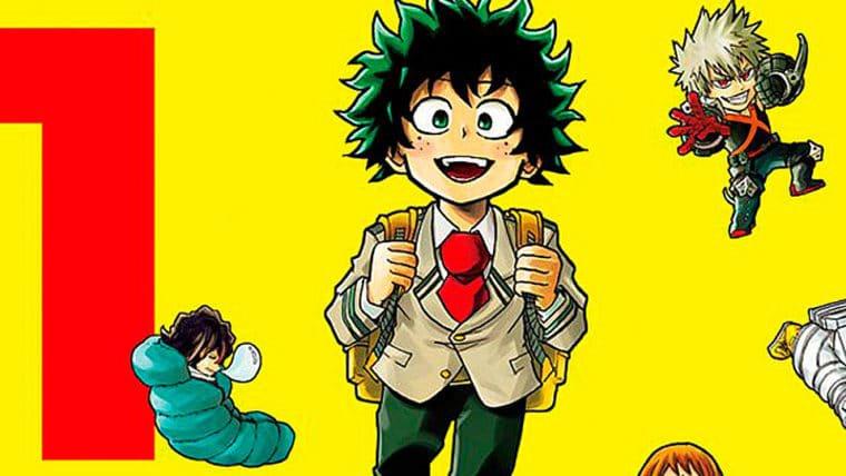 JBC lançará o spin-off My Hero Academia Smash!! no Brasil