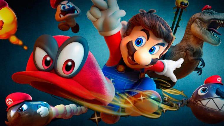 Super Mario Odyssey já é o segundo jogo mais vendido de 2017 na Amazon dos EUA