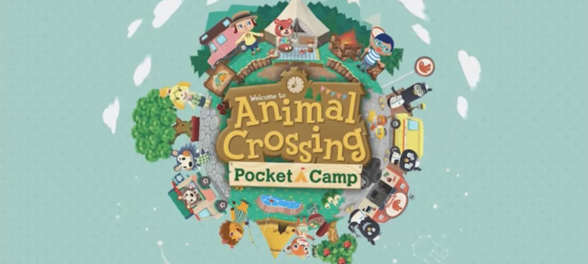 Animal Crossing: Pocket Camp já está disponível