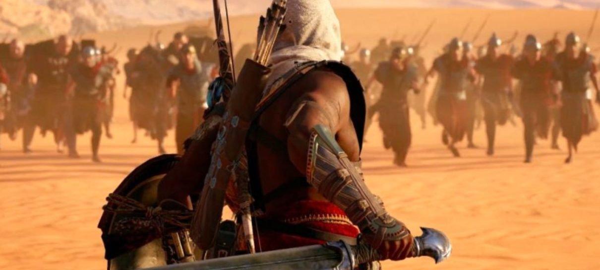 Vendas de Assassin's Creed Origins no lançamento foram o dobro das de Syndicate