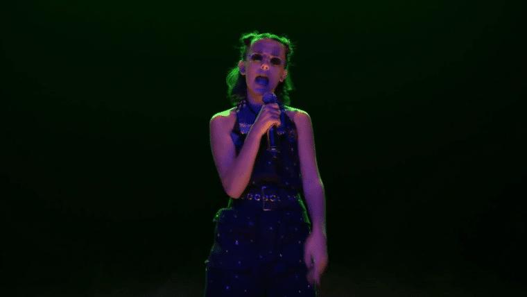 Stranger Things   Millie Bobby Brown recapitula primeira temporada cantando rap!