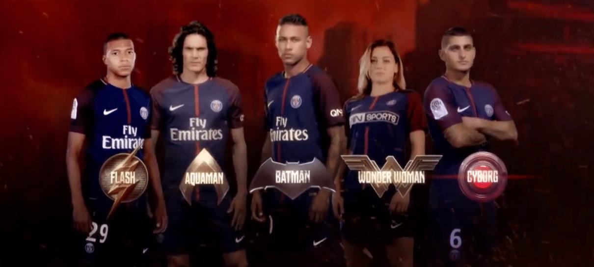 Neybatman! Neymar encarna o homem-morcego em novo vídeo de Liga da Justiça