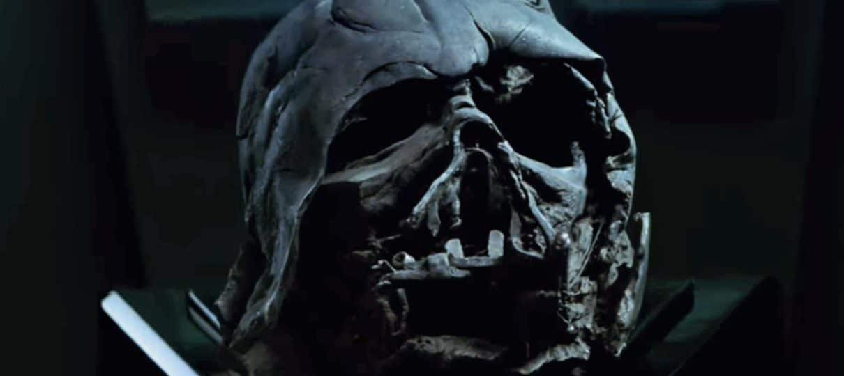 Star Wars | Hot Toys anuncia réplica da máscara queimada de Darth Vader!