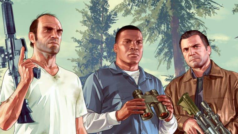 GTA V se torna o jogo mais vendido de todos os tempos nos EUA
