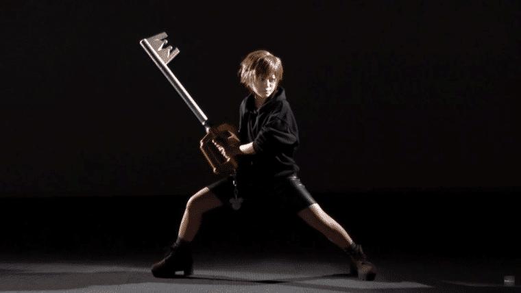 Agora você pode ter sua própria Keyblade