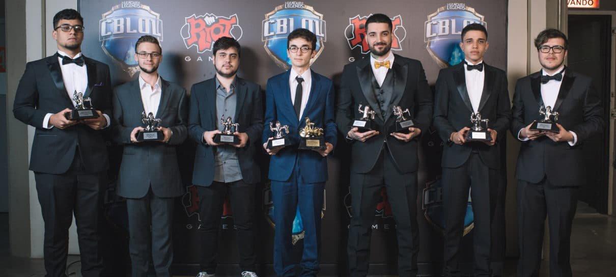 League of Legends | Confira a lista de vencedores do Prêmio CBLoL 2017
