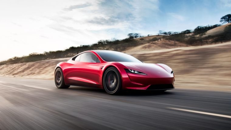 Novo Tesla Roadster será o carro comercial mais rápido do mundo