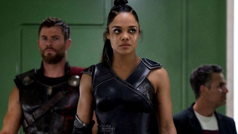 Thor: Ragnarok | Roteiristas tinham planejado um arco romântico para Valquíria
