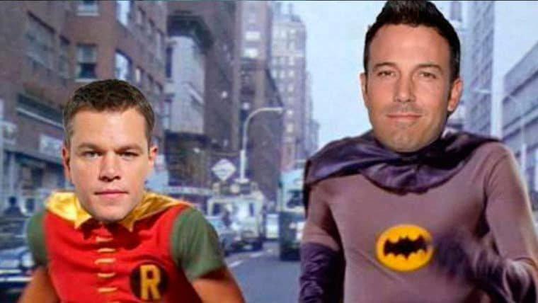 Ben Affleck e Matt Damon quase foram o Robin no Batman de Tim Burton!