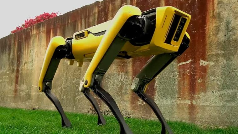 Boston Dynamics revela nova versão de seu robô quadrúpede
