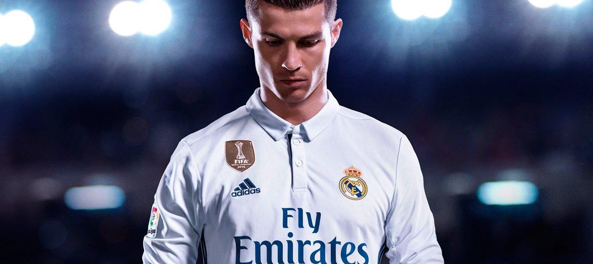 FIFA 18 continua no topo da lista de mais vendidos na PS Store do mês de outubro