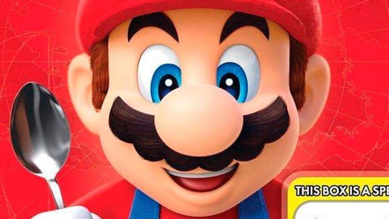 Super Mario Odyssey pode ganhar cereal matinal com caixa que é um Amiibo!