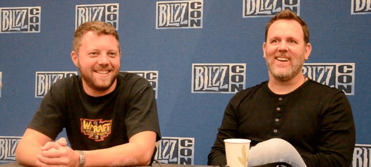 Conversamos com a equipe de jogos clássicos da Blizzard