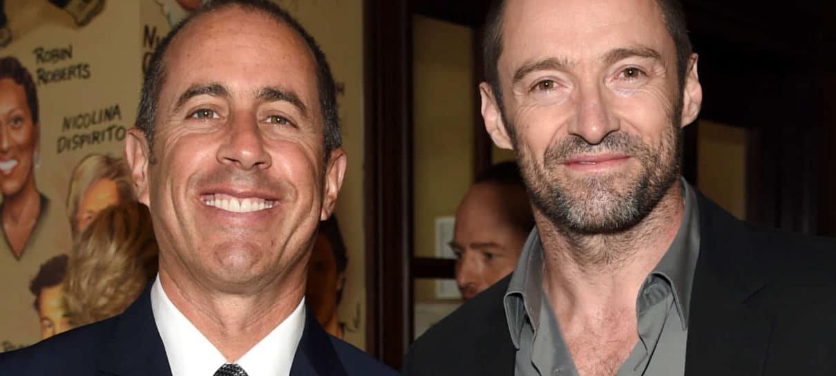 Jerry Seinfeld ajudou convencer Hugh Jackman a se aposentar como Wolverine