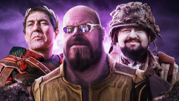 Vingadores: Guerra infinita e AGÁ BÊ ÓH