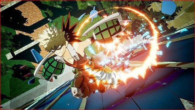 My Hero Academia: One's Justice   Bakugo está pronto para explodir tudo nessas novas imagens