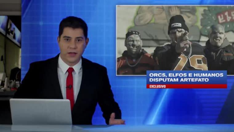 Bright | Evaristo Costa traz informações de última hora sobre acidente envolvendo orcs e elfos
