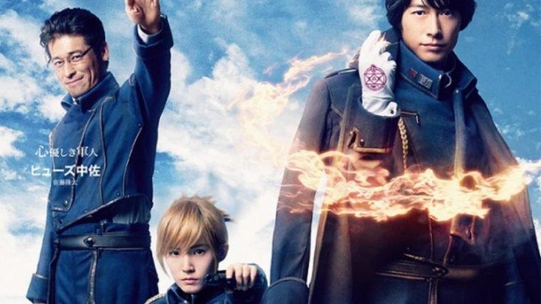 Live-action de Fullmetal Alchemist estreia em primeiro lugar nos cinemas do Japão