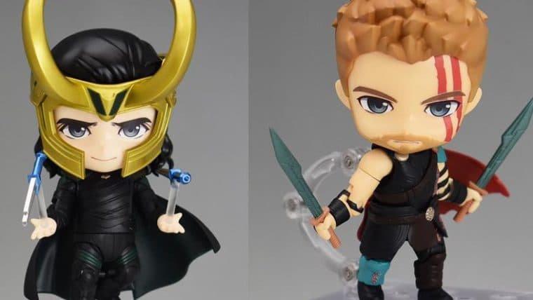 Traição de verdade é não comprar esses Nendoroids do Loki e do Thor