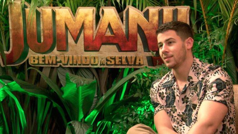 Entrevistamos Nick Jonas de Jumanji: Bem-vindo à Selva