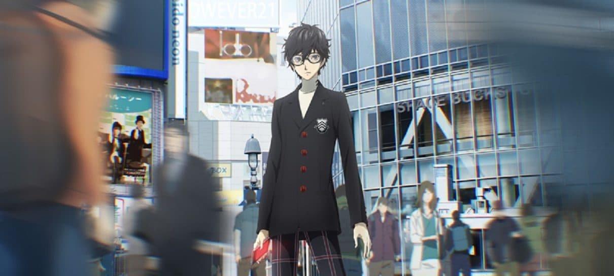 Anime de Persona 5 ganha trailer e o nome do protagonista é revelado