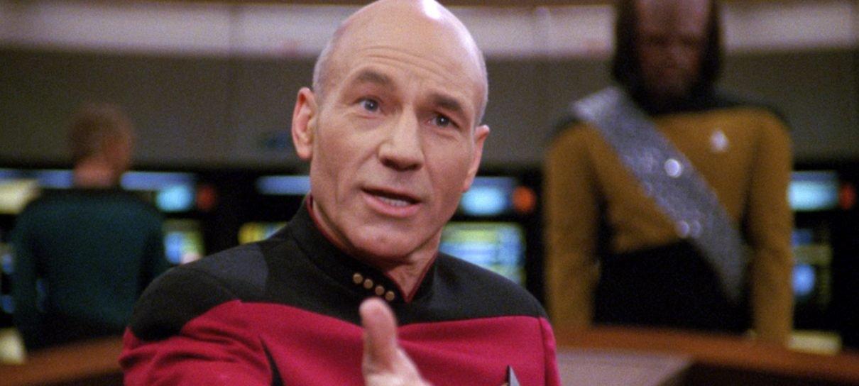 Star Trek | Patrick Stewart compartilha foto do início da produção de nova série