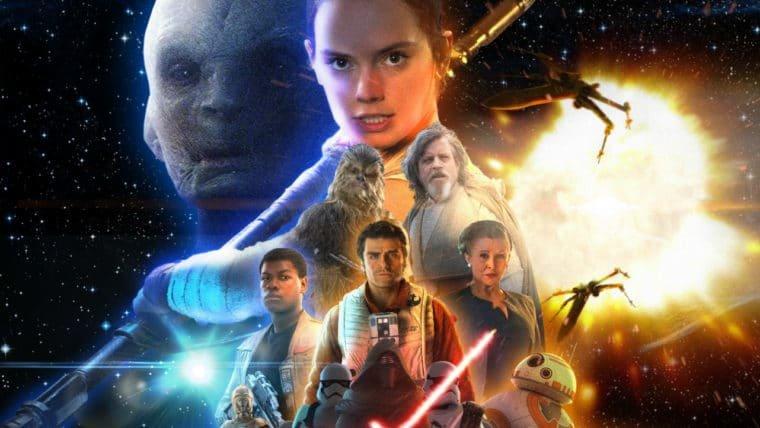 Bilheteria EUA   Star Wars: Os Últimos Jedi bate as oito estreias e continua liderando