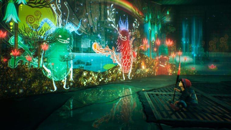 Concrete Genie mostra a mecânica de pintura viva em novo gameplay da PSX 2017