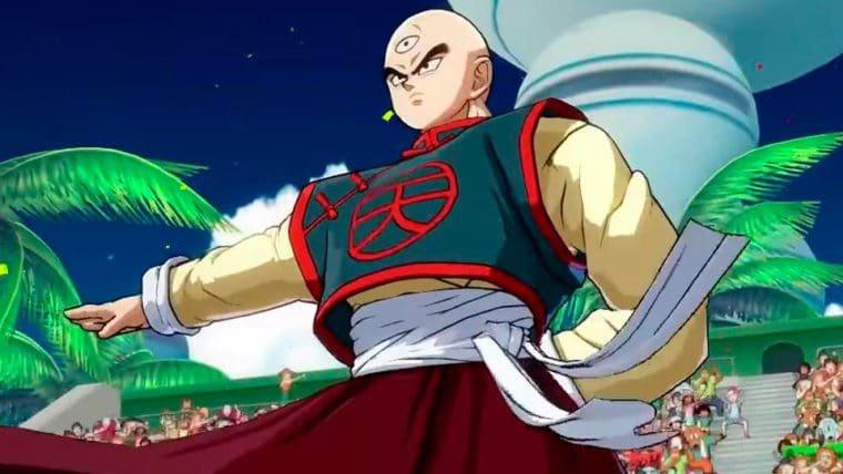 Dragon Ball FighterZ | Tenshinhan é totalmente apelão e esse vídeo prova isso