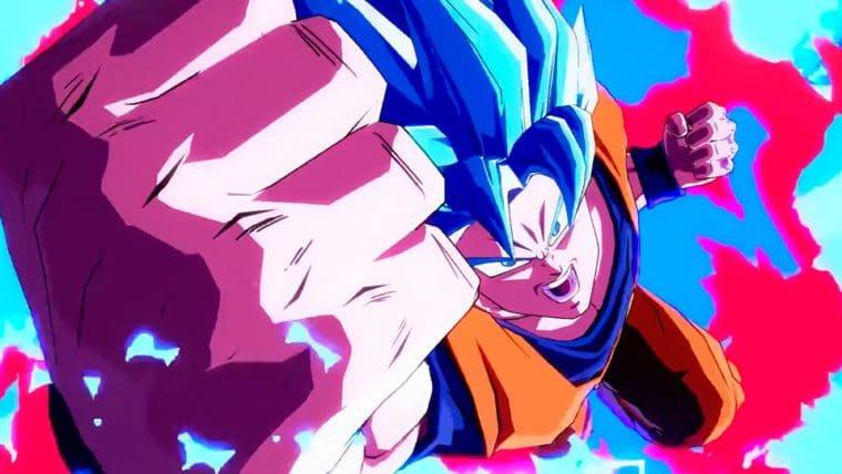 Dragon Ball FighterZ | Goku mostra o poder do Super Saiyajin Azul em novo trailer