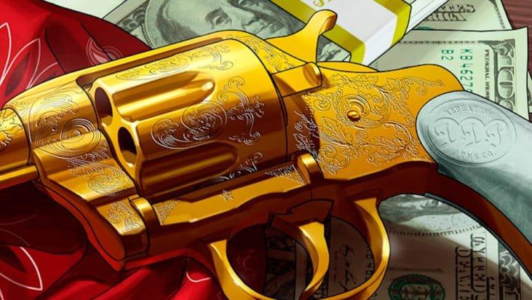 Você já pode desbloquear uma arma para Red Dead Redemption 2 em GTA Online