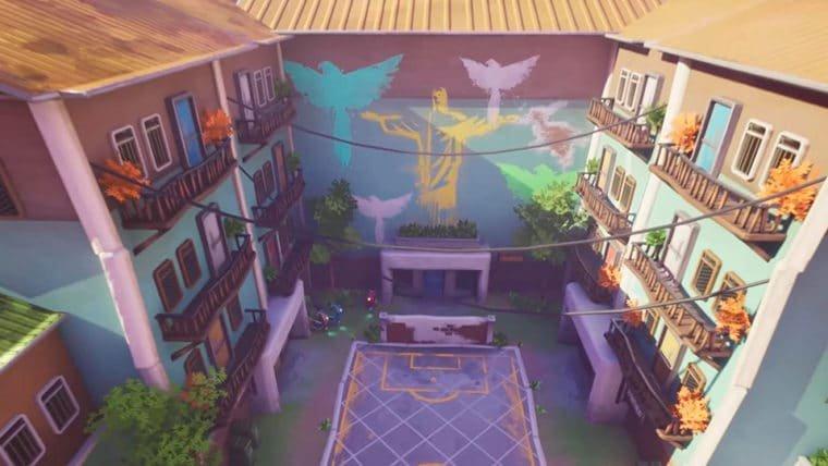 Este fã criou mapas incríveis do Cairo e da Favela do Rio baseados em Overwatch!