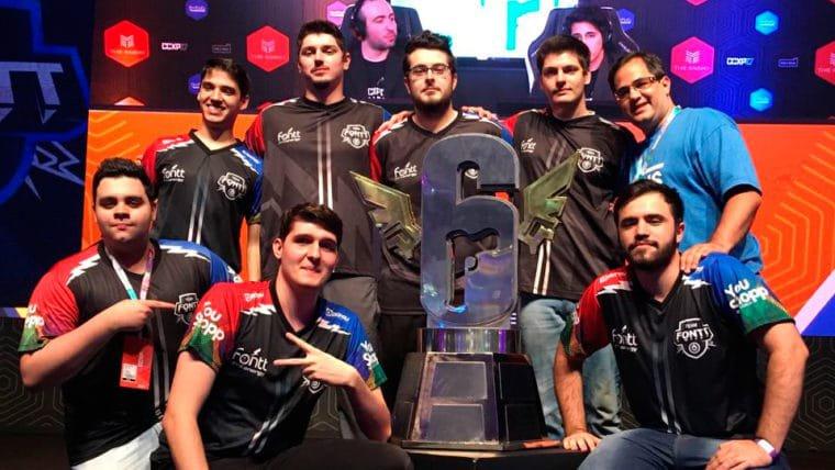 Rainbow Six | Team Fontt derrota Black Dragons e leva título do Brasileirão 2017