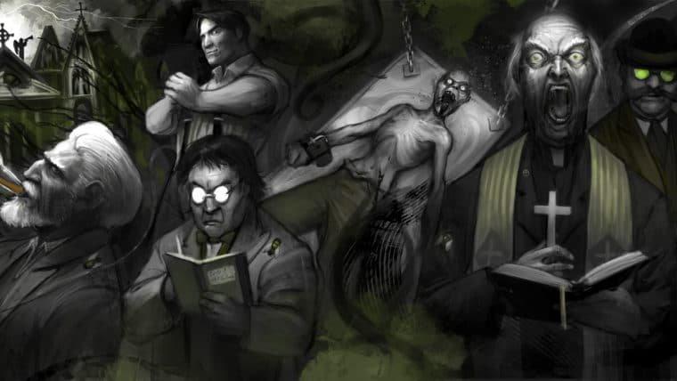 RPG Call of Cthulhu 1: O mistério de William Faraday