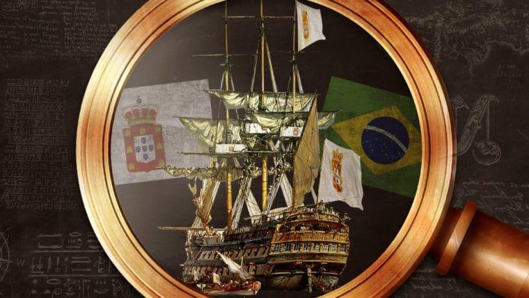 A chegada da família real no Brasil