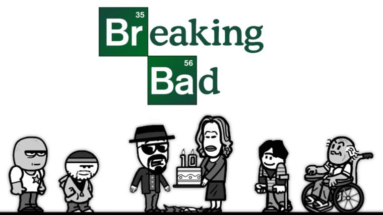 Animação relembra os dez anos de Breaking Bad; assista!