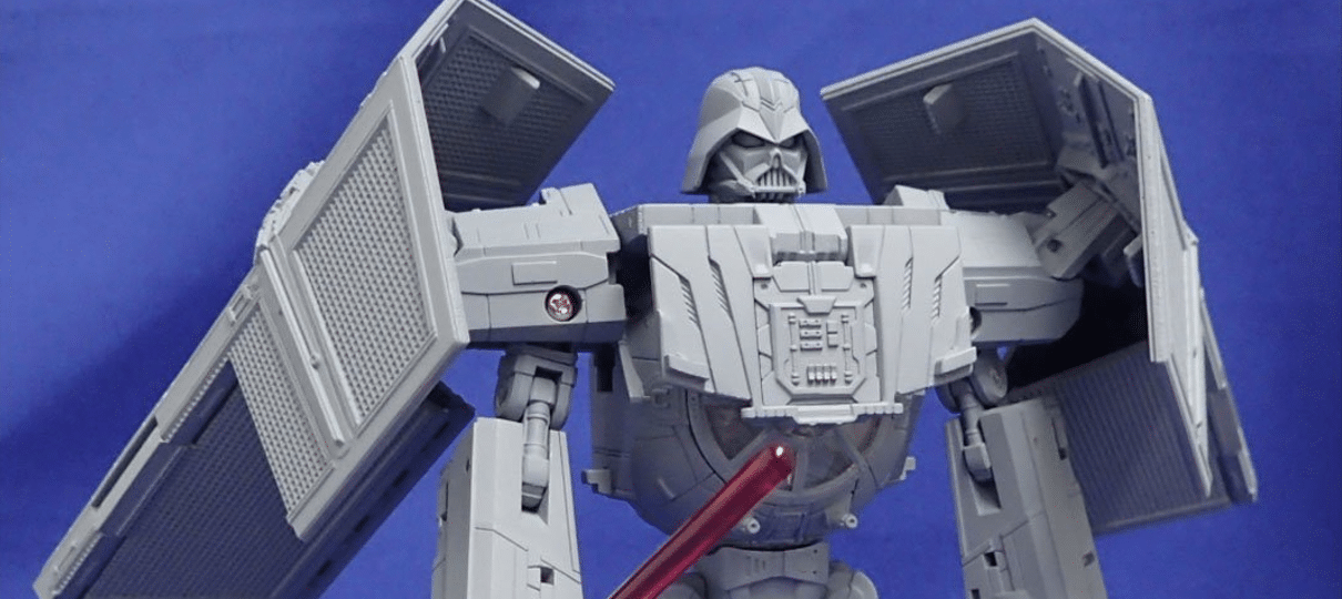 Star Wars ganha nova linha de brinquedos crossover com Transformers