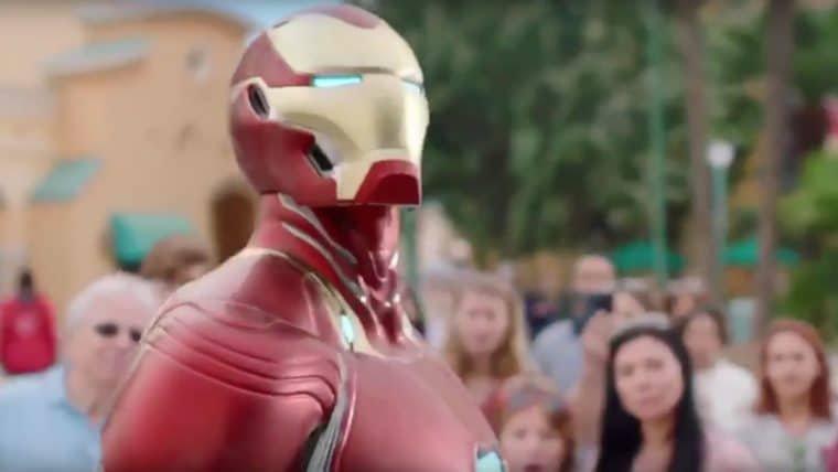 Comercial da Disney mostra armadura de Homem de Ferro em Vingadores: Guerra Infinita