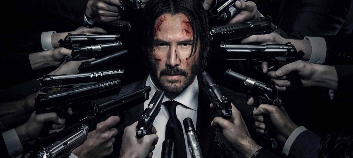 John Wick sofre acidente em vídeos dos bastidores do terceiro filme