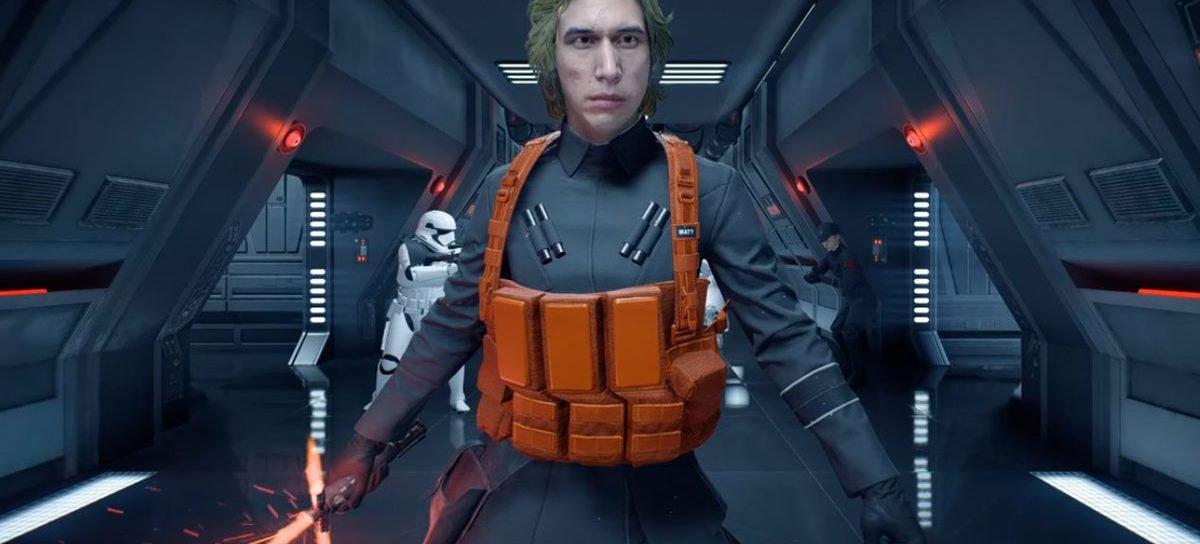 Mod traz Matt, que definitivamente não é Kylo Ren disfarçado, para Star Wars Battlefront 2