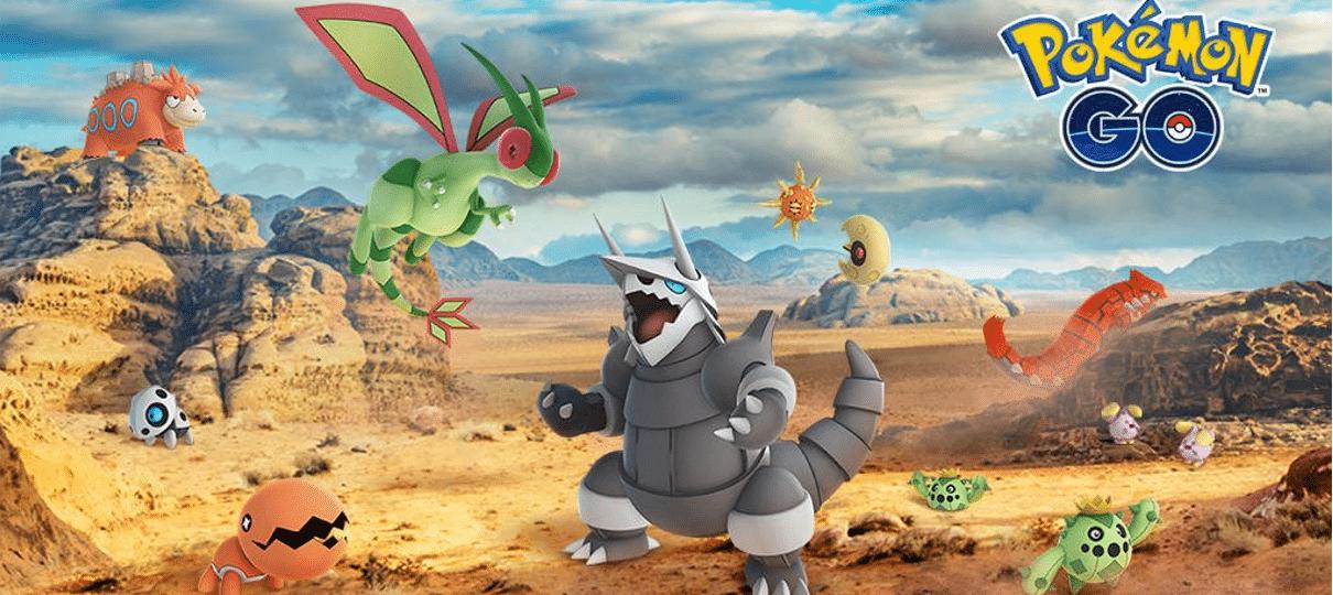 Pokémon GO   Mais monstrinhos da terceira geração chegam ao jogo