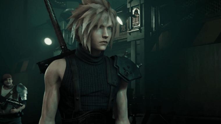 Exibição de 30 anos de Final Fantasy mostra artes conceituais do remake de FFVII