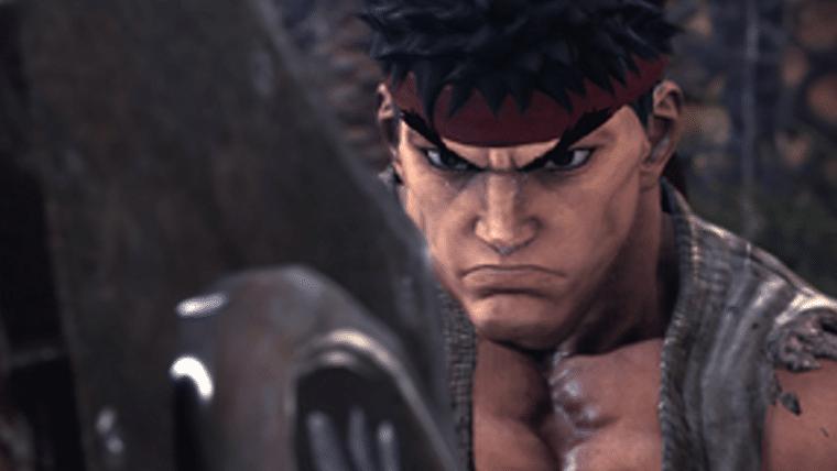 Ryu e Sakura, de Street Fighter, são anunciados como visuais para Monster Hunter: World