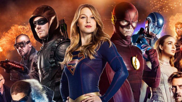 Heróis se preparam para o combate em vídeo das séries da DC